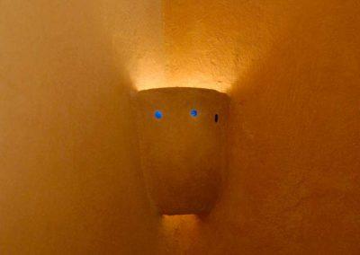 Lehmlampe